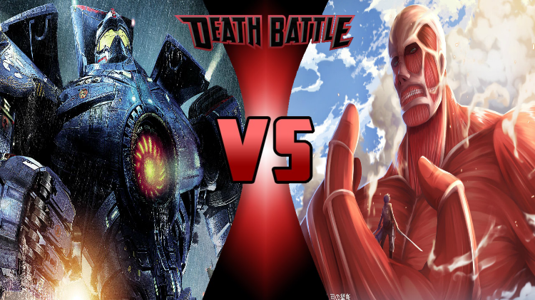 Image - Gypsy Danger vs Colossal Titan.png | DEATH BATTLE ...