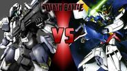 ARX-7 Arbalest vs. Gundam Wing Zero