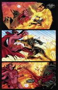 Ghost rider vs mephisto