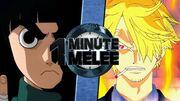 OMM - Rock Lee VS Sanji