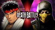 Ryu VS Scorpion