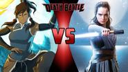 Korra vs. Rey