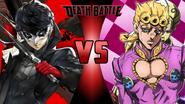 Joker vs. Giorno Giovanna