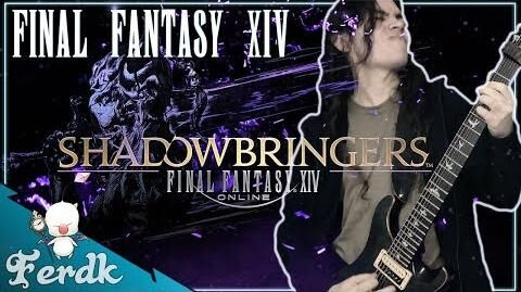 """SHADOWBRINGERS FINAL FANTASY XIV - """"Insatiable (Dungeon Boss)""""【Symphonic Metal Cover】 by Ferdk"""