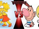 Bart and Lisa vs Billy and Mandy