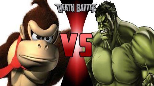 Dk vs hulk