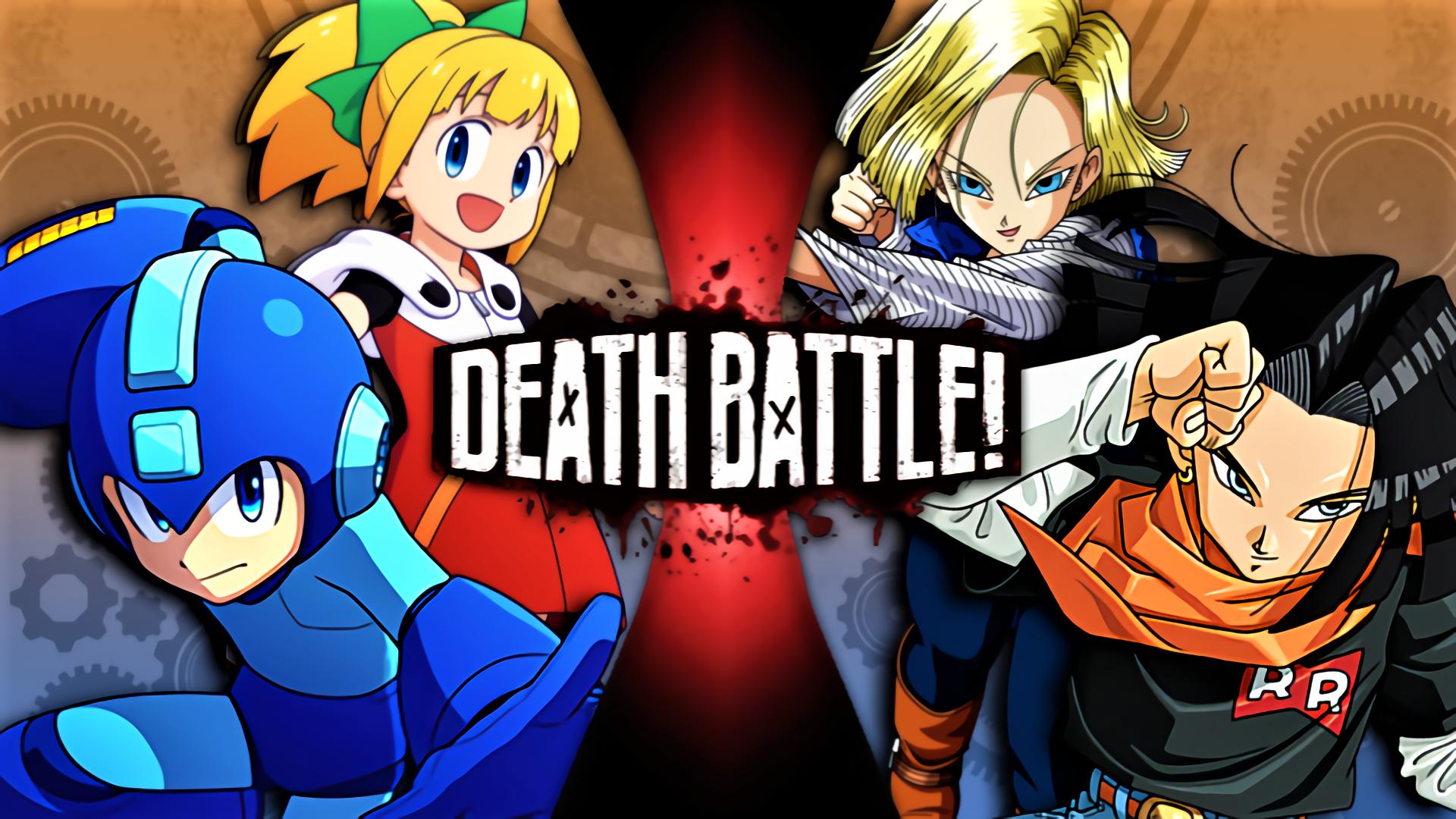 Android 17 18 Vs Mega Man Roll Death Battle Fanon Wiki Fandom