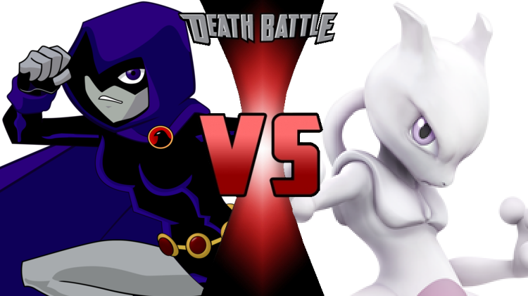 Death Battle Raven vs Mewtwo cover