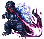 Godzilla X Monster Strike - Godzilla Heisei