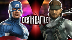 Captain America VS Solid Snake