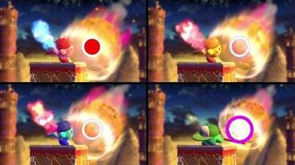 Kirby Launches a Meteor 9999 lightyears in 20 seconds