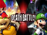 Mario & Bowser VS Luigi & King Boo