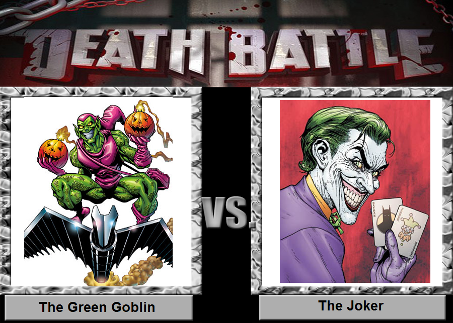 Green goblin vs the joker death battle fanon wiki fandom the joker death battle fanon wiki fandom powered by wikia ccuart Image collections