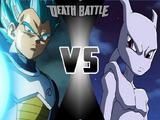 Vegeta vs Mewtwo