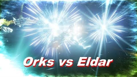 Orks vs Eldar! Rank 59, Heroic Difficulty, 1500 Points - Battlefleet Gothic Armada