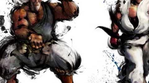 Street Fighter IV OST - Theme of Gouken vs Ryu