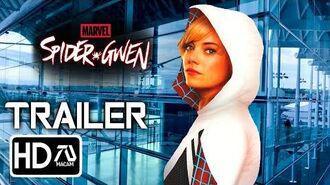 Sony's Spider Gwen HD Trailer (2020) Emma Stone, Andrew Garfield (Fan Made)-2