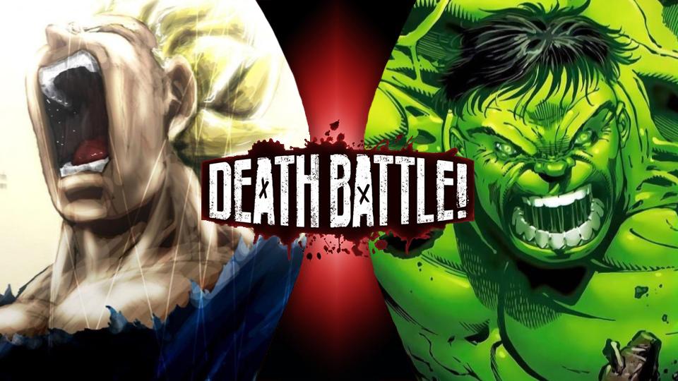 bb41e7ef3a25d5 Vegeta VS Hulk