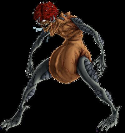 Mother-Brain-Metroid-Render-by green mamba