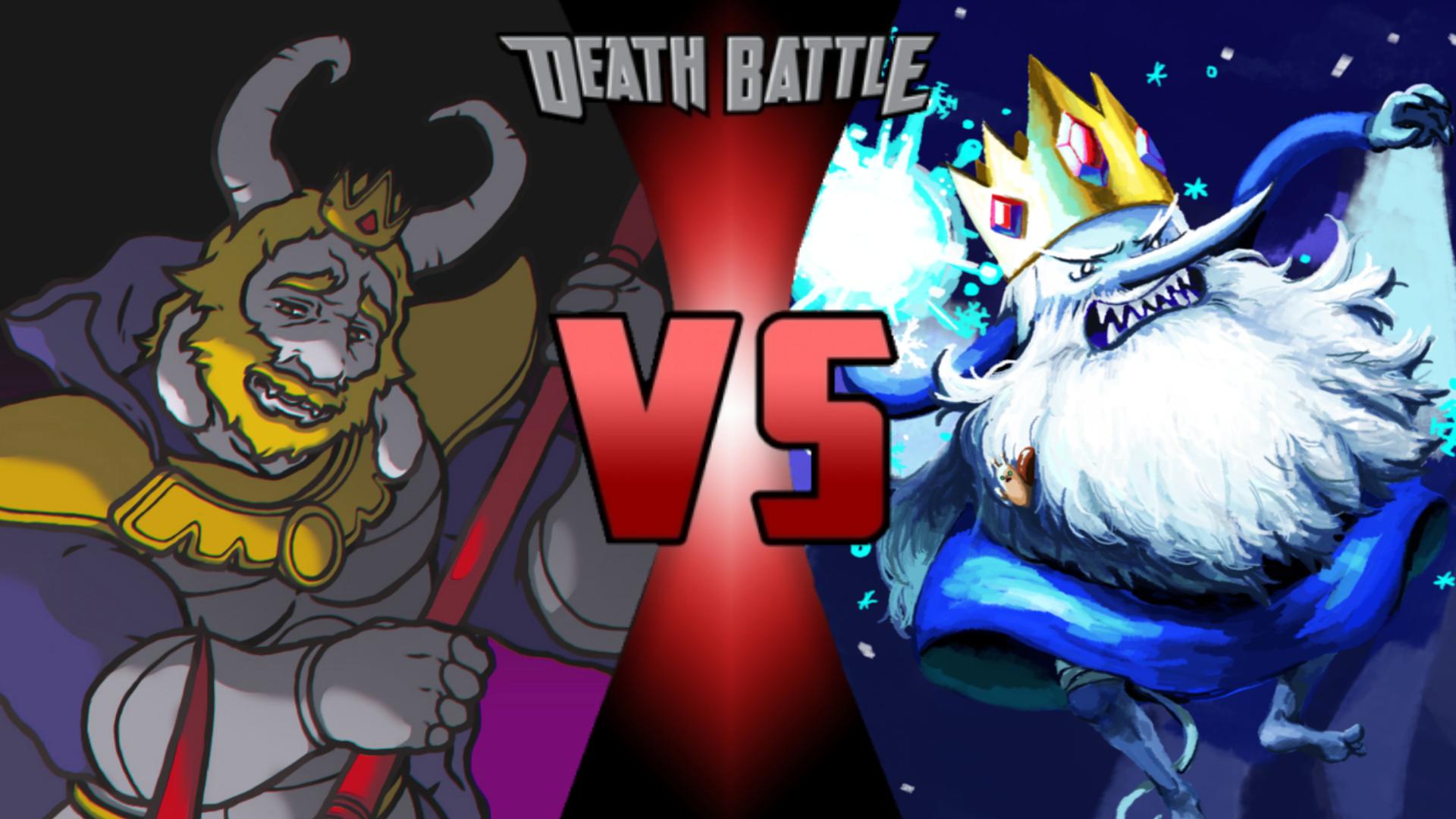 Asgore Dreemurr vs  Ice King   Death Battle Fanon Wiki