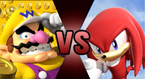 Wario VS Knuckles