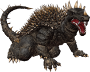 Godzillla the game anguirus by sonichedgehog2-d8xm6wr