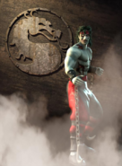 Mortal Kombat - Liu Kang as a Zombie