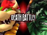 Bowser vs The Hulk