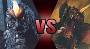 SpaceGodzilla vs Destoroyah