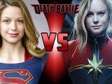 Supergirl VS Captain Marvel