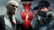 Agent 47 VS Aiden Pearce