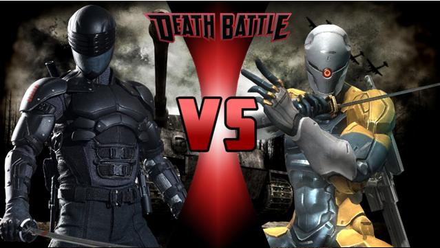 snake eyes vs grey fox death battle fanon wiki fandom powered by