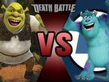 Shrek VS Sulley
