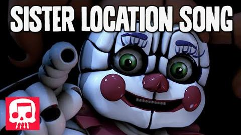 """FNAF SISTER LOCATION Song by JT Machinima - """"Join Us For A Bite"""" -SFM-"""