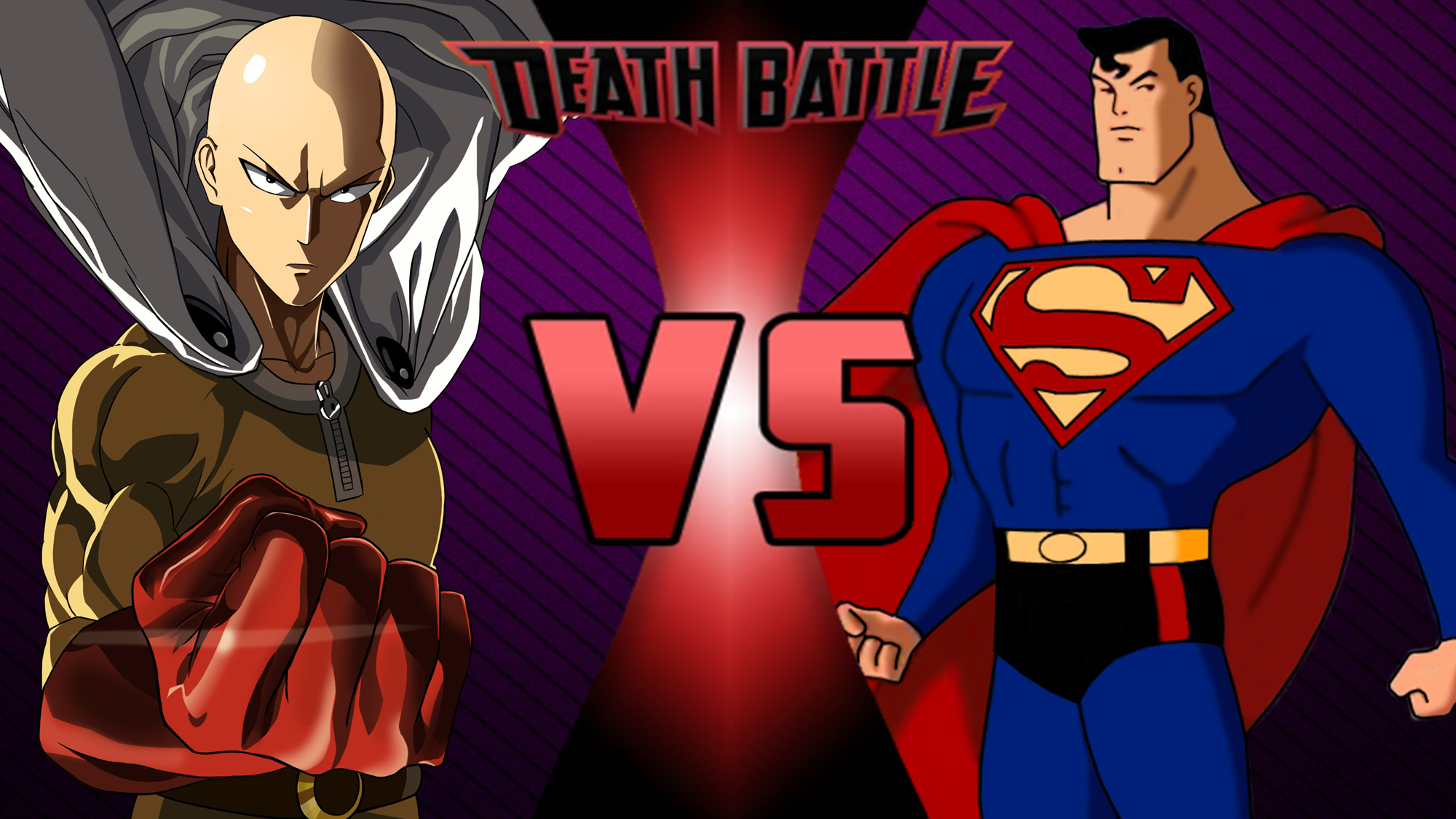 Saitama One Punch Man Vs Superman 3