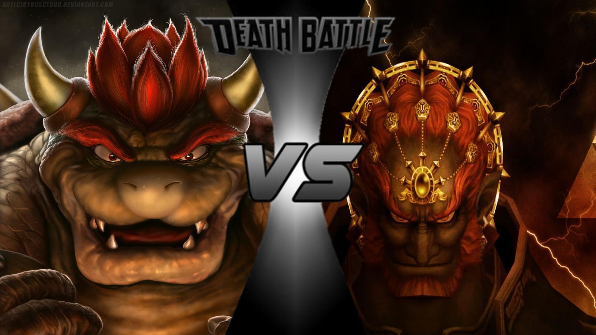 User blog:Paleomario66/Death Battle Blog: Bowser VS Ganondorf