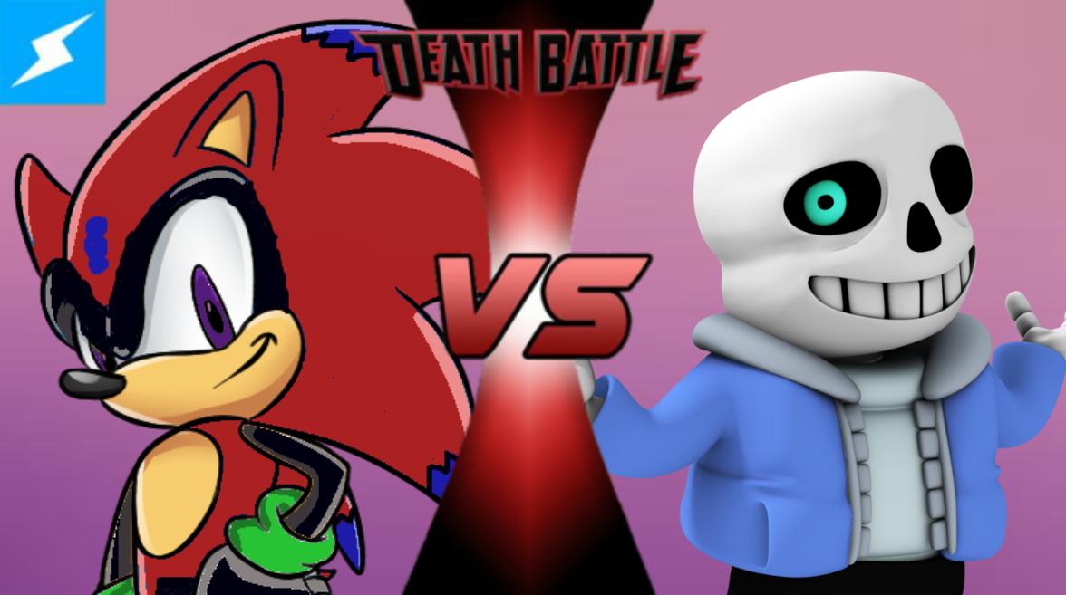flame the hedgehog vs sans death battle fanon wiki fandom