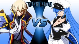 Jin Kisaragi vs Esdeath