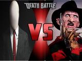 Slenderman vs Freddy Krueger