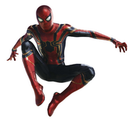 The Amazing Spider-Man Iron Spider Infinity War