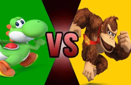 Yoshi vs DK