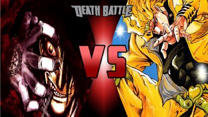 Alucard Hellsing Vs Dio Brando Death Battle Fanon Wiki Fandom