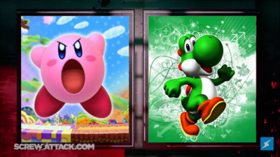 Kirby VS Yoshi DB Preview