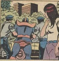 Thanos gets arrested