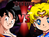 Goku vs Sailor Moon