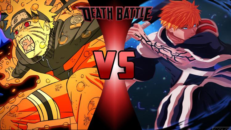 Image - Naruto Uzumaki vs. Ichigo Kurosaki 2.png | Death ... | 750 x 421 png 643kB