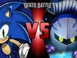 Sonic the Hedgehog vs. Meta Knight
