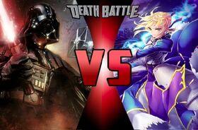 Darth vader vs saber