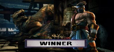 THE WINNER IS... JAGO!