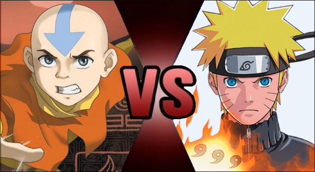 Death battle idea aang vs naruto uzumaki by eggheadcobra-d8iza72